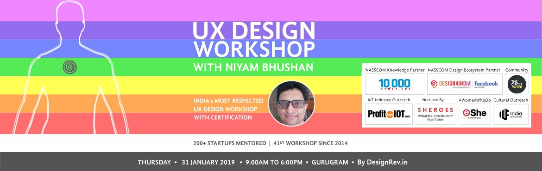 41st UX Design Workshop with Niyam Bhushan in Gurugram