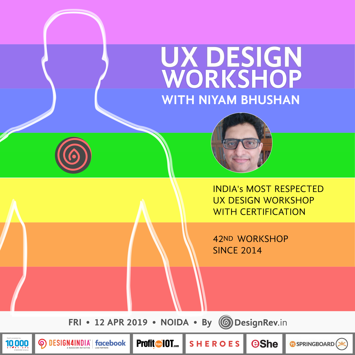 42nd UX Design Workshop with Niyam Bhushan in NOIDA