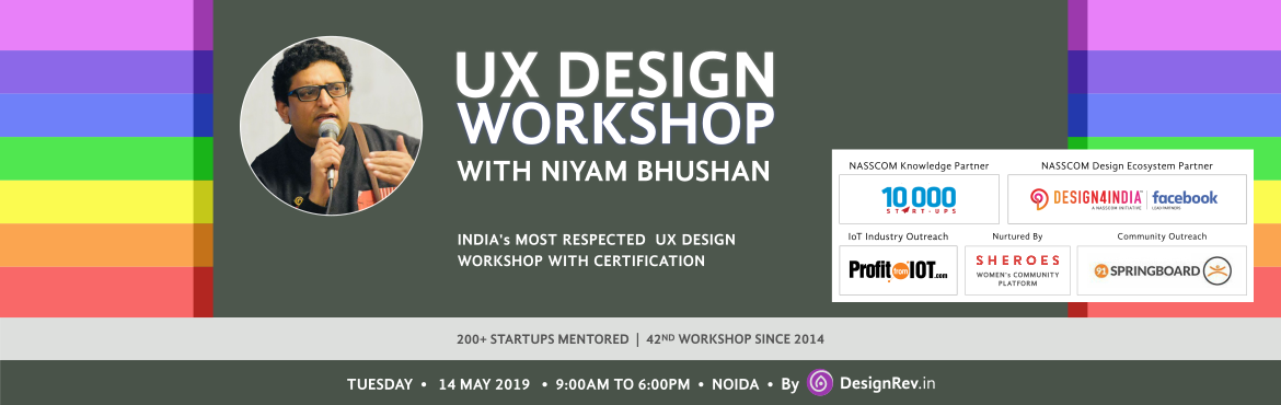 43rd UX Design Workshop with Niyam Bhushan in Gurgaon