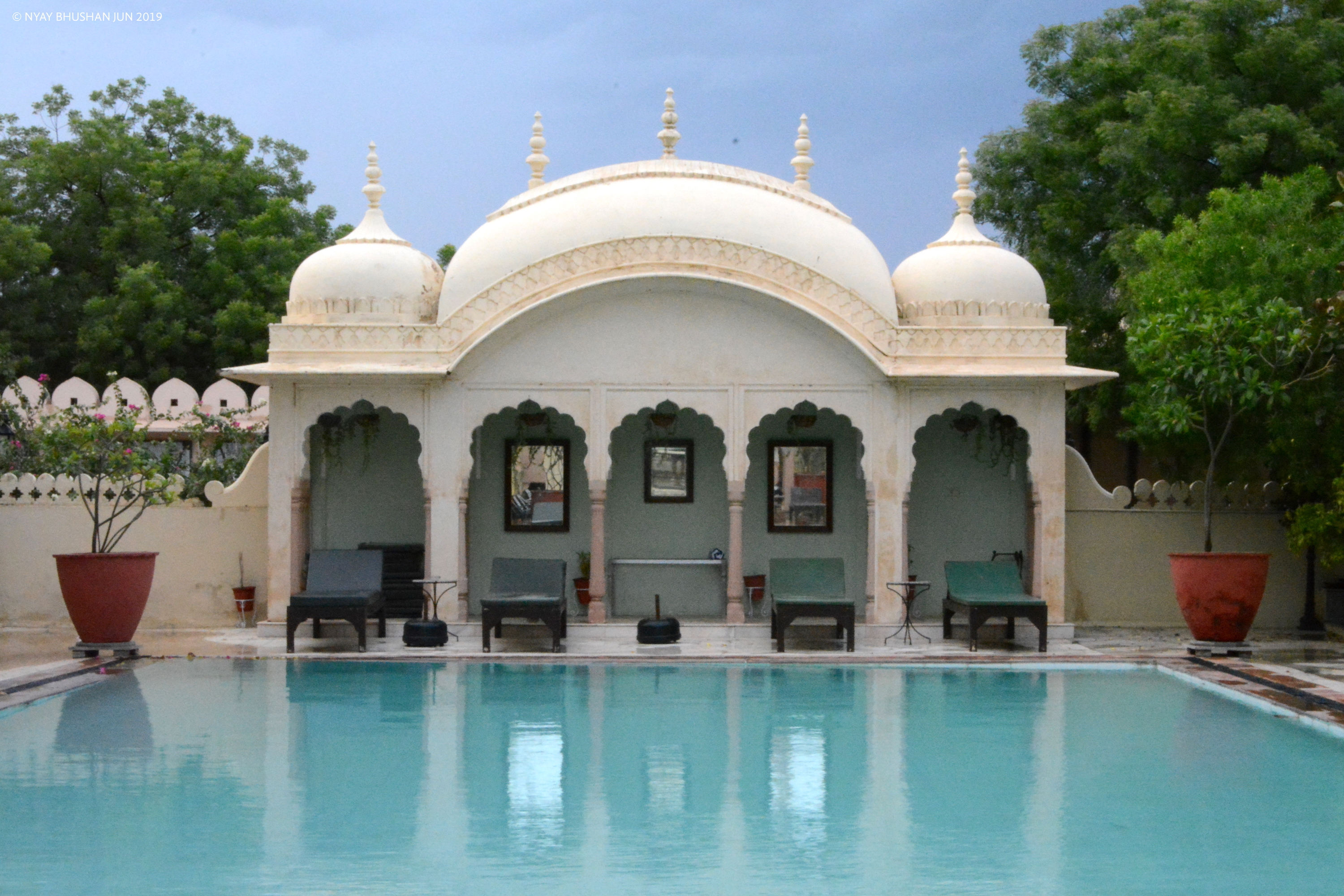 Alsisar Mahal Rajasthan - Oasis with Swimming Pool