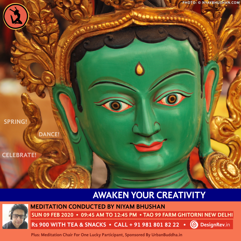 Awaken Your Creativity: Spring! Dance! Celebrate! Meditation conducted by Niyam Bhushan, 09 Feb 2020, Tao 99 Farm, Ghitorni, New Delhi